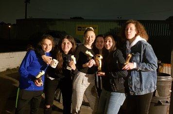 Sofia, Laura, Rebecca, Kelly, Alissa & Chalotte