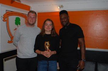 Ella Dodd - Managers Player - B Team