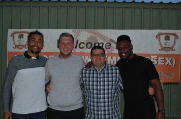Shaq (GK Coach), Nathan (B Team Coach), Matthew (First Team Coach), Will (First Team Coach)