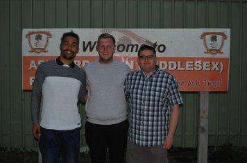 Shaq (GK Coach), Nathan (B Team Coach), Matthew (First Team Coach)