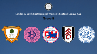 2019-20 L&SERWF League Cup Groups Announced