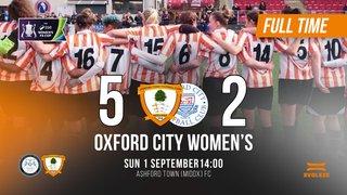 Match Report: Ashford Town (Middx) V Oxford City