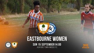 Match Programme V Eastbourne Town