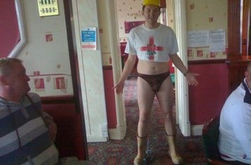 Matt Palmer takes the pants
