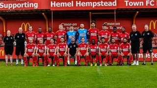 HEMEL HEMPSTEAD TOWN FC ARE DELIGHTED TO ANNOUNCE OUR NEW