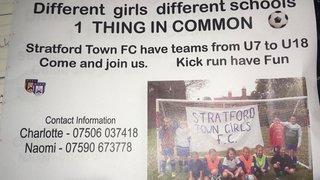 Join Stratford Town Girls
