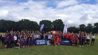 Schools 2 Club touch festival for the girls