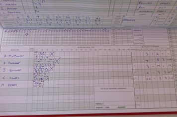 Scorebook #1