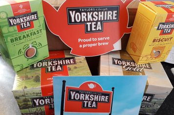 With thanks to our friends at Yorkshire Tea