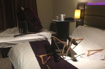 Ben and Ash honeymoon suite redesigned