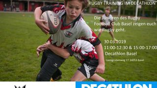 Rugby Training im Decathlon