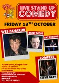Comedy Night hosted by the Rugby Section!