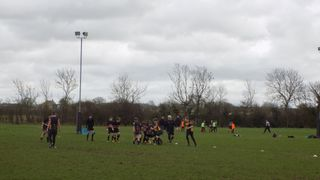 Under 13's against Oundle 19.03.17