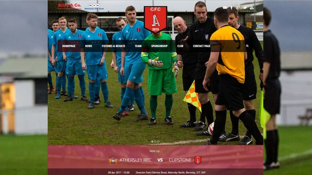 New Website for Clipstone.