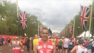 London Marathon - Thanks