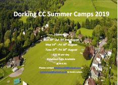 2019 Summer Coaching Camps
