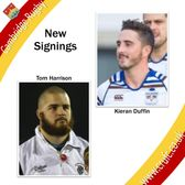 Two More Signings