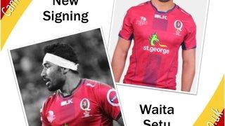 Cambridge Rugby Announce Signing Waita Setu