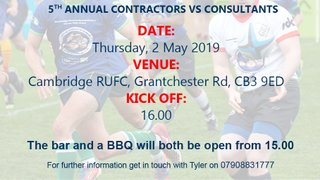 Cambridge Construction Industry Charity Match