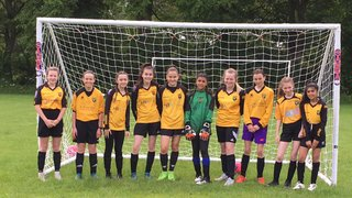 Chester Nomads U13 Girls Play their First Game