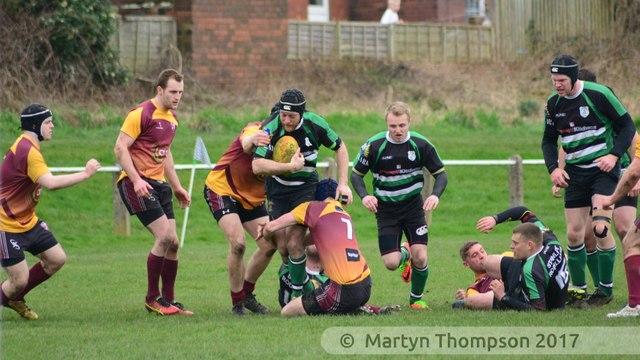Sat 8th April  - Rods v Ossett  - kick off 3pm (picture courtesy Martyn Thompson)
