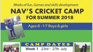 Summer Cricket Camps!