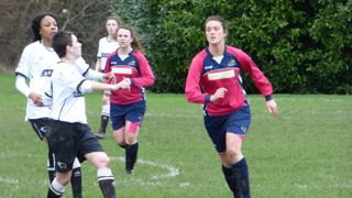 Ladies v Derby County, County Cup Semi Final Feb 16