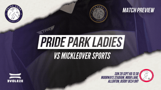 PREVIEW | Pride Park v Mickleover Sports