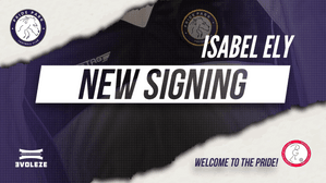 SIGNING   Izzy joins The Pride!