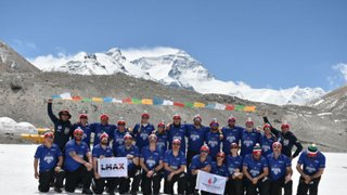 Taylor Reflects on Everest Challenge