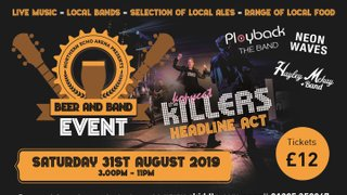 Beer & Band Event - Saturday 31st August