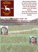 Lewis Allen & Jordan Lord have offered their services to Our Under 16's