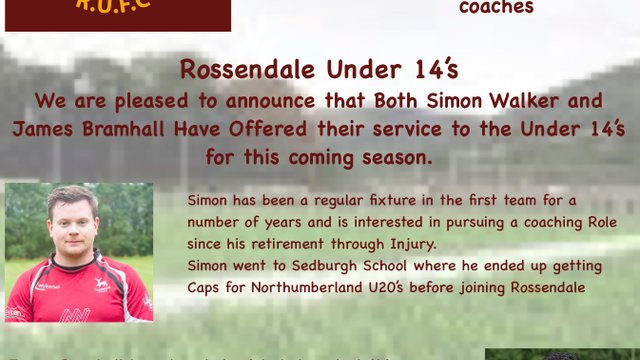 Number 3 In our New Season Coaching Initiative our U14's