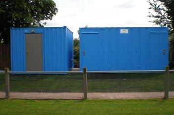 Complete toilet cabin work