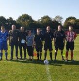 BRIDGWOOD FAMILY MAKE DONATION TO ECCLESHALL FC