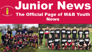 Junior Rugby News