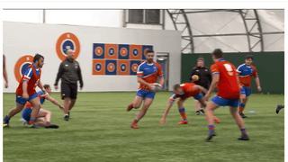 England Rugby Game Changers - Team Run Touch