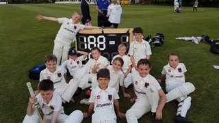 Cheerful U!0s despite their defeat by Bedminster U11s