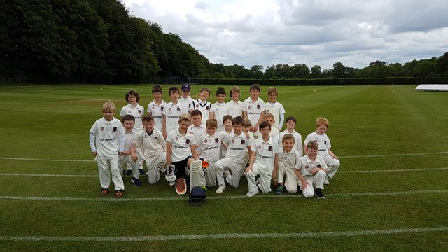Congratulations to the U11s for winning their Cup match against our U10s