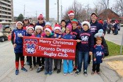 Dragons in the Lakeshore Santa Claus Parade