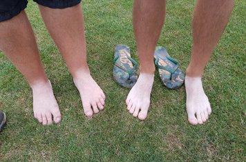 Guess the feet - 1st XI at Old Hamptonians
