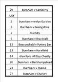 Lots of Friendlies in July