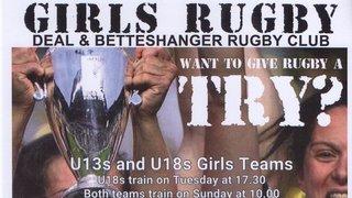 Under 13's Girls