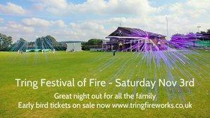 Tring Festival Of Fire - Saturday November 3