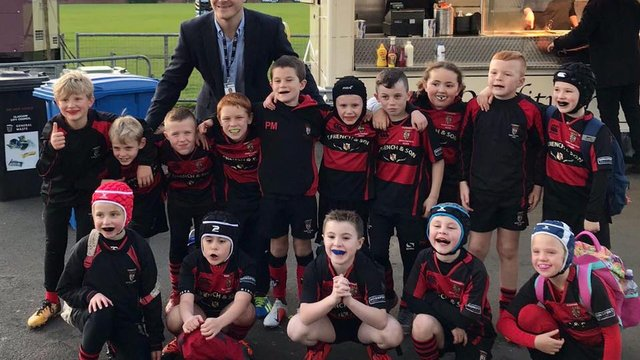 P4 at Glasgow Warriors Pre-match Festival