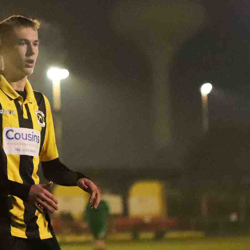 Luke Jackson impressed in the Velocity Trophy match for the Bees