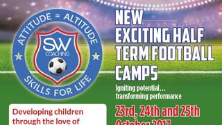 Half Term Football Camps - 23rd to 25th October