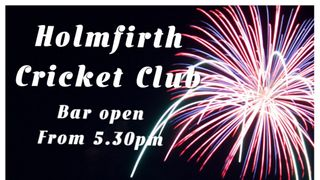 2017 Fireworks - 4th November from 5.30pm