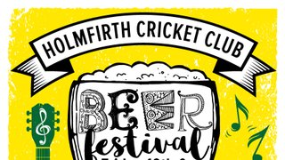 Beer festival at Holmfirth CC
