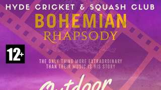 Sunset Cinema and Hyde Cricket and Squash Present Bohemian Rhapsody
